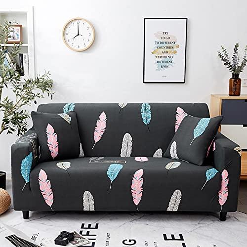 WXQY Funda de sofá de Spandex Funda elástica para Muebles Sala de Estar Funda de sofá elástica Funda de sofá Funda de sofá sillón A12 4 plazas