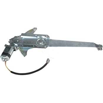Front Right Passengers Side Power Window Regulator and Motor Assembly Compatible with 1981-1996 Ford Bronco 1981-1983 Ford F100 Truck 1981-1996 Ford F150 F250 Truck OE 741-754,F6TZ1523208-AA