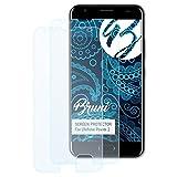Bruni Schutzfolie kompatibel mit Ulefone Power 2 Folie, glasklare Bildschirmschutzfolie (2X)
