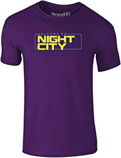 Welcome to Night City, Kids Printed T-Shirt