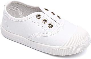 3e77fdf626445 Daytwork Bébés Chaussures - Enfant Unisexe Toile Baskets Chaussures  Première Marche Punt Bas Haut Slip on