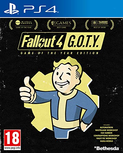 Fallout 4 GOTY (Game of the Year Edition) - Ps4 [Importación francesa]