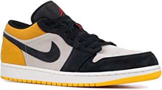 Jordan Air 1 Low (Sail/Gym Red-University Gold, 11)