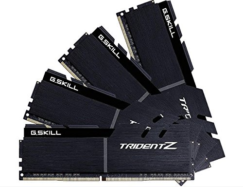 Price comparison product image GSKILL Trident Z 32 GB (4X 8 GB) DDR4 4133 MHz CL19 Black