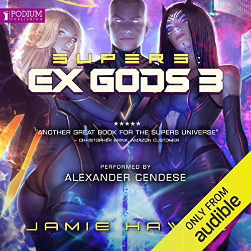 Supers: Ex Gods 3 audiobook cover art
