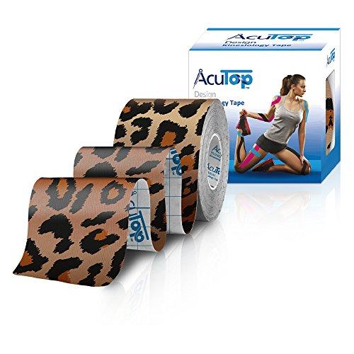 AcuTop Design Kinesiology Tape Leopard