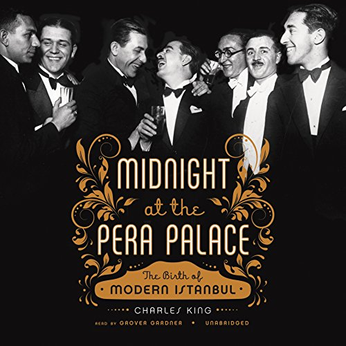 Midnight at the Pera Palace audiobook cover art