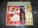 Enesco: Roumanian Rhapsody No. 1 and No. 2; Dvorak: Carnival Overture; Tchaikovsky: Francesca Da Rimini