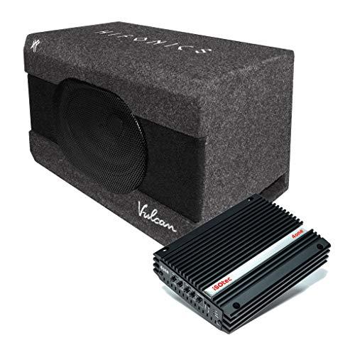 I-SOTEC Auto/KFZ Plug & Play Upgrade Soundsystem (Subwoofer+Endstufe) VSUB kompatibel für VW Volkswagen