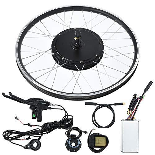 Ebike 48V 500W Motor 26 Pulgadas Rueda KT-LCD5 Metro Bicicleta de montaña Convertir a Eelctric Bike Kit(for Front Drive)