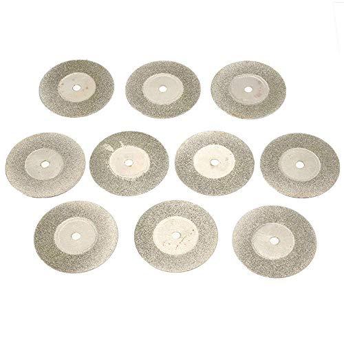 outingStarcase 10pcs 30mm de Sierra de Diamante de Cuchillas rotativas de Corte Herramientas eléctricas Rueda de paletas Herramientas industriales