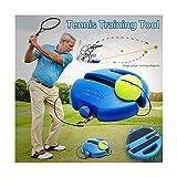 Voberry New Tennisball Trainer Tennis Baseboard mit Einem Seil und 1 Trainingsball Tennis...