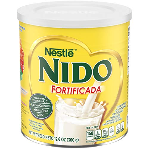 NESTLE NIDO Fortificada Dry Milk 12.6 Ounce. Canister
