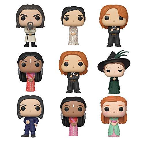 Funko Pop!: Bundle of 9: Harry Potter Yule Ball - Ginny, Minerva McGonagall, Fred Weasley, George Weasley, Parvati Patil, Cho Chang, Padma Patil, Severus Snape and Igor Karkaroff image