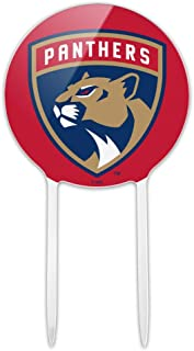 GRAPHICS & MORE Acrylic NHL Florida Panthers Logo Cake Topper Party Decoration for Wedding Anniversary Birthday Graduation