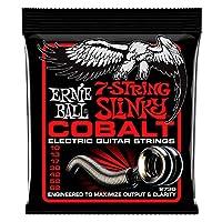 【正規品】 ERNIE BALL 2730 エレキギター弦 7弦 (10-62) 7-STRING COBALT SKINNY TOP HEAVY BOTTOM SLINKY コバルト・スリンキー