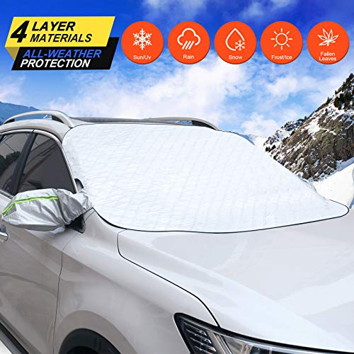 (50% OFF) Frost Guard Car Windshield Snow Cover $12.50 – Coupon Code