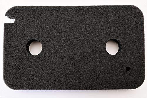 Filter für Miele 9499230 Trockner Wärmepumpentrockner | Fein-Grob | 220 x 130 x 30mm | Schwammfilter Filtermatte Kondenstrockner | Made in Germany Fusselfilter Schaumstoff Schaumfilter Sponge