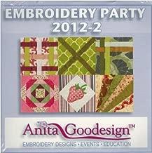 Anita Goodesign Embroidery Party 2012-2