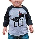 7 ate 9 Apparel Baby's Dinosaur Dino One 1st...