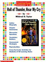 By Scholastic Books Literature Guide: Roll of Thunder, Hear My Cry (Grades 4-8) [Paperback]