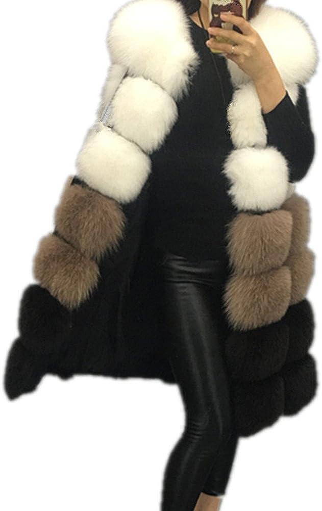 Winter Waistcoat Women's Faux Fur Vest Warm Sleeveless Jacket Coat Outerwear