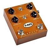 T-Rex REPLICA - Pedal de efecto reverb para guitarra, color marrón