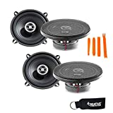 Focal Auditor Bundle - Two Pairs of Focal RCX-130 Auditor Series 5.25' 2-Way Coaxial Speakers