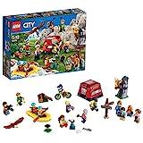 LEGO City - Ensemble de figurines - Les aventures en plein air - 60202 - Jeu de Construction