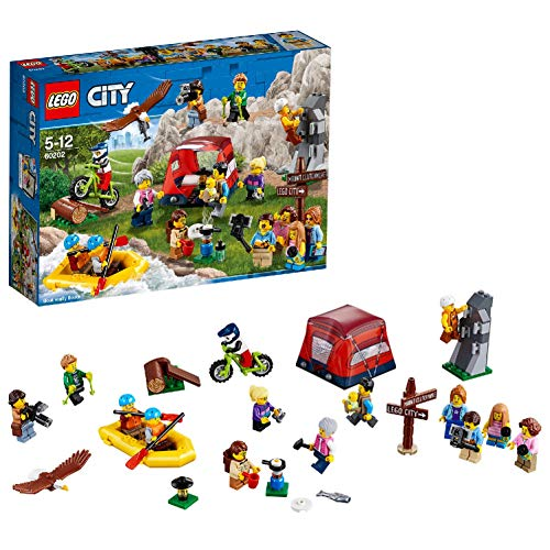 LEGO- City People PackAvventure all\'Aria Aperta, Multicolore, 60202