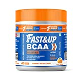 Fast&Up BCAA (30 Servings, Orange flavour) BCAA Essentials, Pre/Post Workout & Intra Workout...