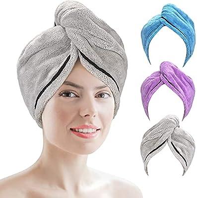 AmazerBath Hair Towel Wrap