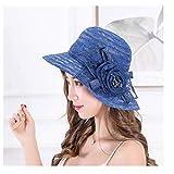 HOSD Nuevo Verano Elegante Sombrero para las Mujeres de Ala