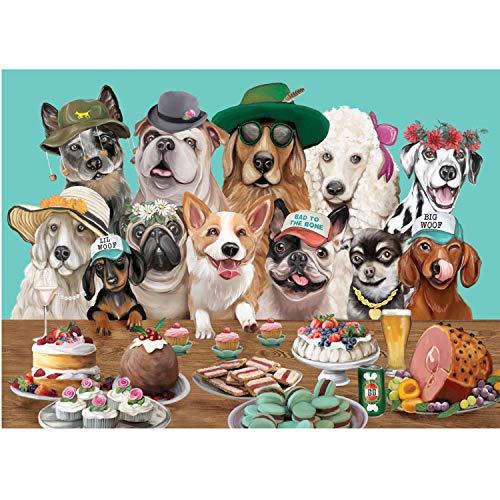 TUFEIMJ Puzles para Adultos,Puzles de 1000 Piezas Adulto,Puzzles 1000 Piezas,Piezas Rompecabezas,Puzzle Adultos,1000 Lindos Rompecabezas de Cachorros, desafiantes Rompecabezas para Adultos