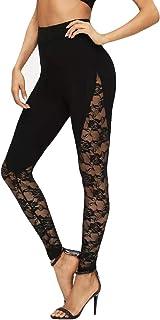 Mallas elásticas de Gran tamaño para Mujer Pantalones de chándal Leggins Yoga Pantalon Elastico Cintura Altura Polainas pa...