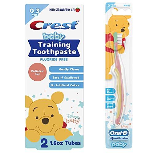 Crest Fluoride Free Baby Toothpaste