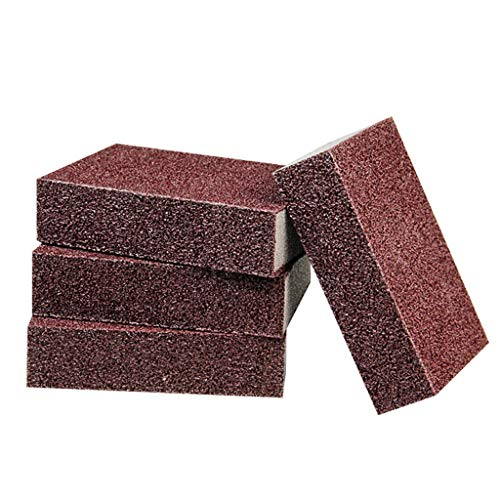 LLKK Maldición Esponja de Cocina 20 Piezas de toallitas de Esponja de esmeril Nano de Cocina,Esponja de Limpieza desincrustante,eliminación de óxido,Esponja de descontaminación toallita mágica