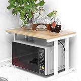 Soporte de horno para microondas y suministros de cocina, estantería para...