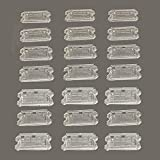 EBCO 30 Pieces Action Figure Display Stands Clear Doll Model Support Stand for 3.75 inch Action Figures …
