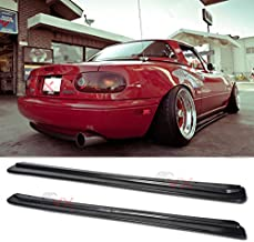 VXMOTOR FD Style Side Skirts Body Kit NA MX-5 JDM Rockers Splitter for 1990-1997 Mazda Miata