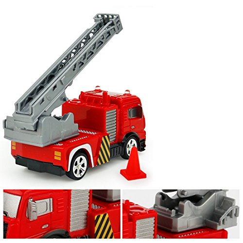 RC Auto kaufen Feuerwehr Bild 2: RC Feuerwehrfahrzeug, Vicoki Ferngesteuert Mini Ferngesteuertes Fahrzeug Feuerwehr Auto Spielzeug*