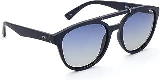 IDEE Polarized Round Men's Sunglasses - (IDS2424C3PSG 55 Blue Gradient Color Lens)