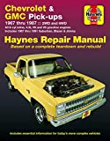 Star Headlight Products - Chevy & GMC 4 3L & V* Pick-ups (67-87) & Suburban, Blazer & Jimmy (67-91) Haynes Repair Manual