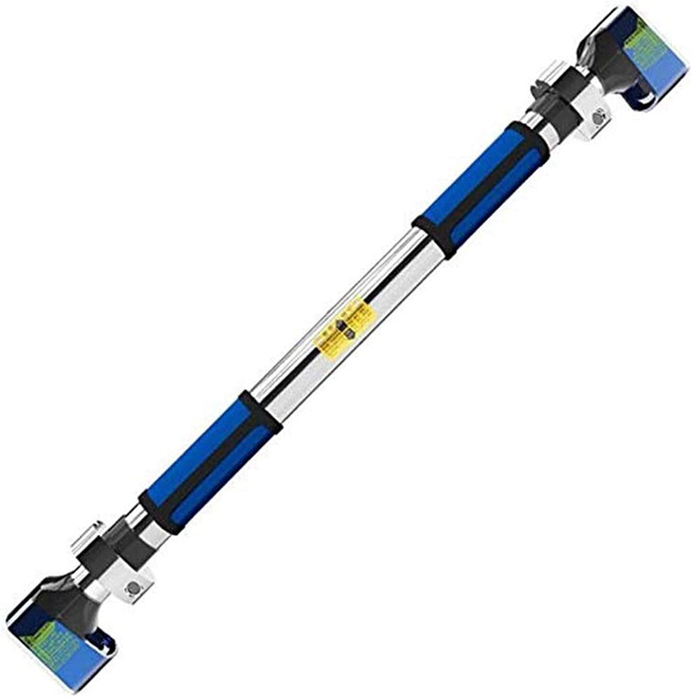 LLSZu for Doorway Klimmzugstange mit ausgedehnten Handgriffen, Trainer for Home Gym übung, tragende 200Kg, Blau, 72-92cm
