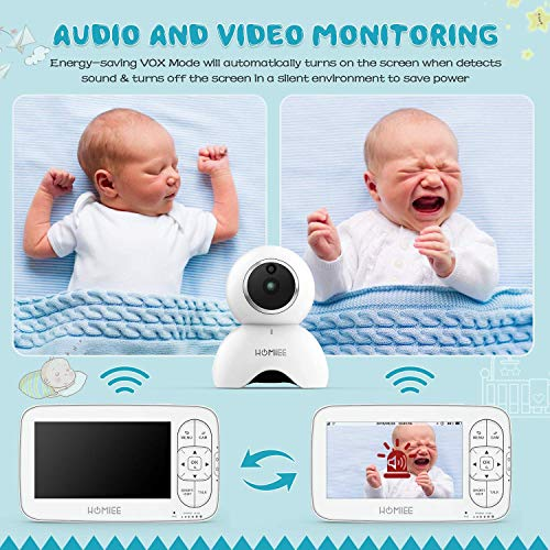 51Zme9geJVL The Best Video Baby Monitors with Smartphone Apps 2021