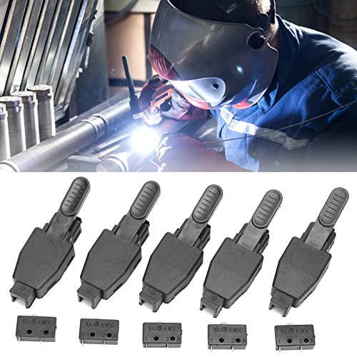 Microinterruptor de antorcha, interruptor de antorcha de soldadura 10 piezas con núcleo para soldadura TIG para soldadura de argón