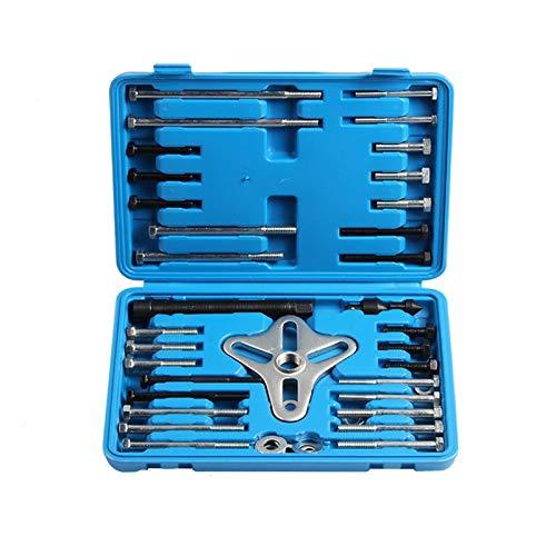 IUEFINUEN 46PCS Lenkrad Abzieher Demontage Werkzeuge Kit Balancer Pulley Getriebe Entfernen Abziehersätze Auto-Auto-Reparatur Spezialwerkzeug