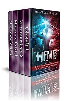 Inmortales: Colección Especial De Vampiros En Español (4 En 1) Libros de Novelas de Vampiros: Las mejores historias de Suspense, Romance y Fantasía Paranormal. Saga Vampiros Romántica en Español de [Mercedes Franco]