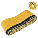TOOLTOO TIG Welding Torch Cable Cover - Flame Resistant Leather Kevlar Stitched 137'x 3.9' (11.5 Feet Length))