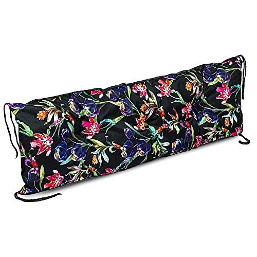 Cuscino per panca Cuscino per sedile per pallet 120x40 - cuscino per panca da giardino cuscino per...